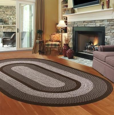 Thorn Mills Town Crier Braided Rug Area Rugs