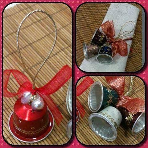 décoration de noel en récup | idees deco | pinterest | nespresso