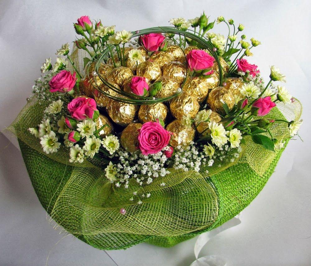 Chocolate bouquet on pinterest candy flowers bouquet of chocolate - Saldais Konfek U Pu Is Candy Bouquet Gift Bouquetcandy Bouquetchocolate Bouquethandmade Flowerscoffee