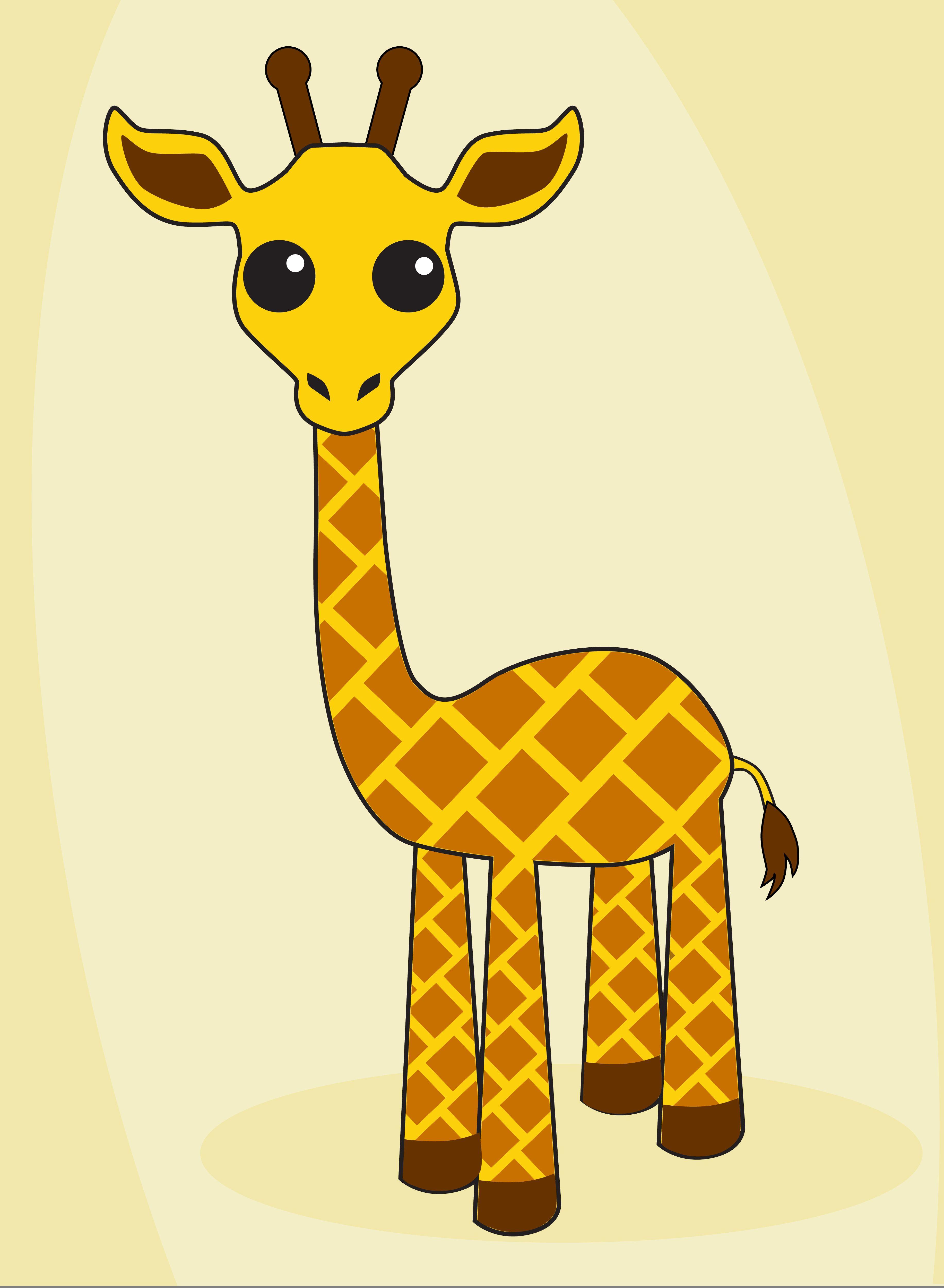 Жирафы картинки для детей нарисованные