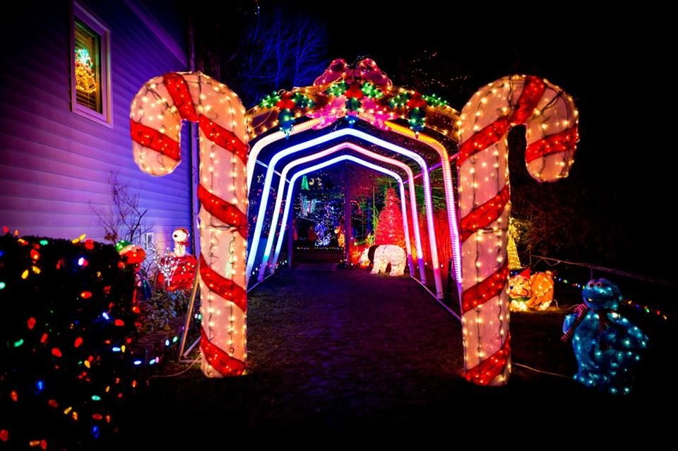 Once again we have been graced with some... - Port Stanley Christmas Lights  | Christmas lights, Christmas display, Xmas lights