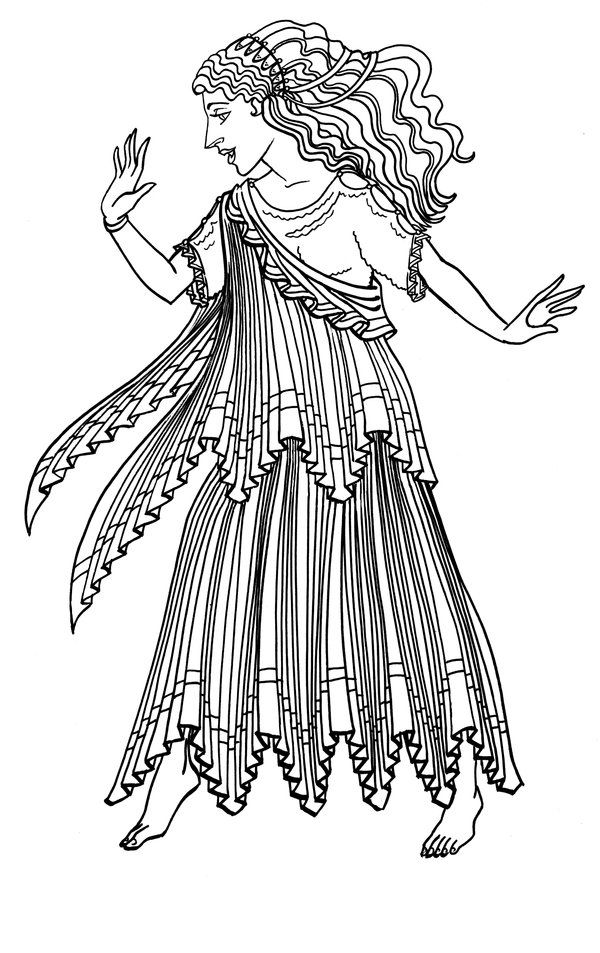ancient greek clothing coloring pages | Ancient Greece by GingerOpal.deviantart.com on @deviantART ...