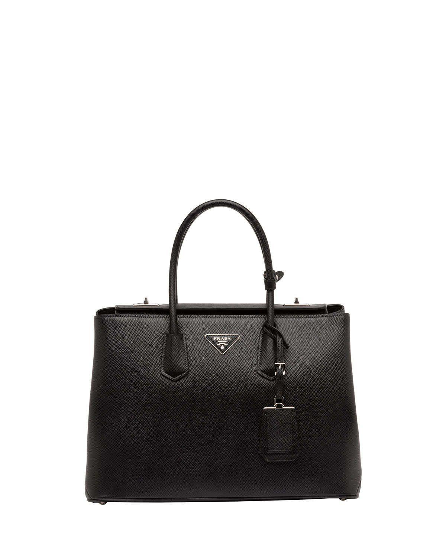 5adb07d93061 Saffiano Cuir Twin Bag