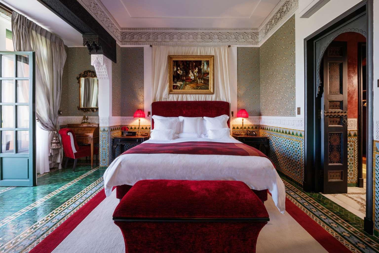 Marrakech Decoration D Interieur hotel 5 étoiles à marrakech | la mamounia, suites d