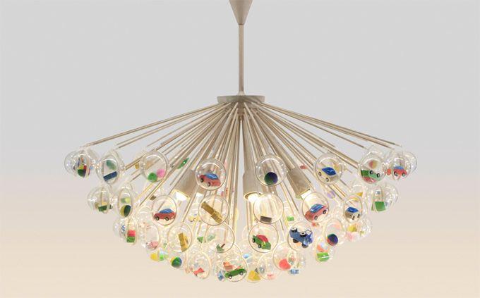 Idea per un negozio per bambini lampadario kids shops