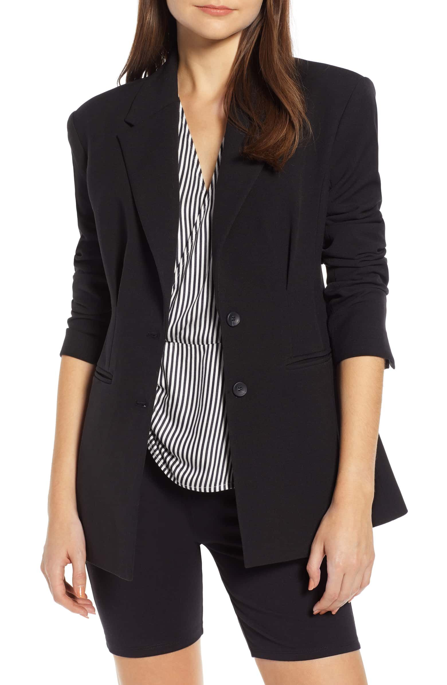 Waist Emphasis Blazer