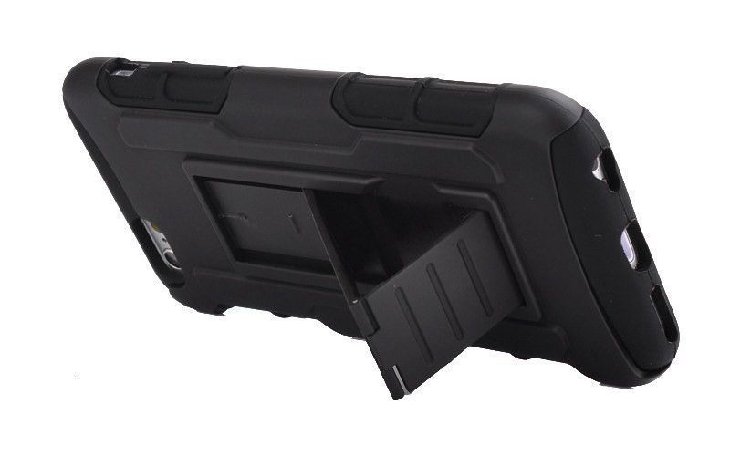 iPhone Future Armor Case with Belt Holster and Kickstand