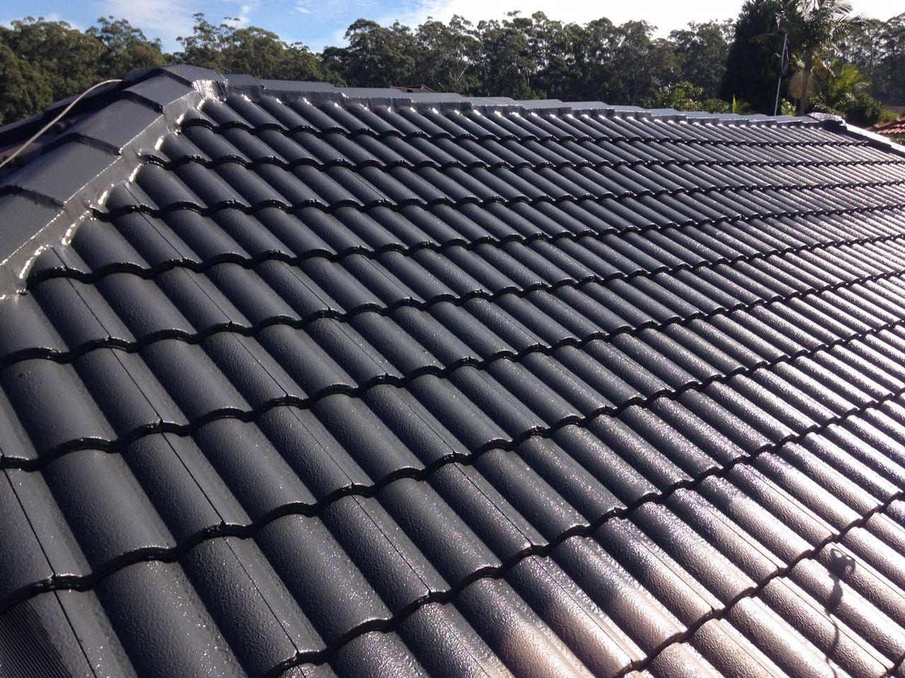 As A Professional Roofing Service Provider High Class Roofing Has Been Proudly Complete Roofpainting In And Ar Roof Restoration Roof Repair Roof Maintenance
