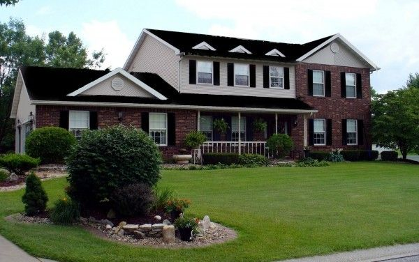 Attractive Red Brick Home Design Red Brick House Brick House Designs Exterior Brick