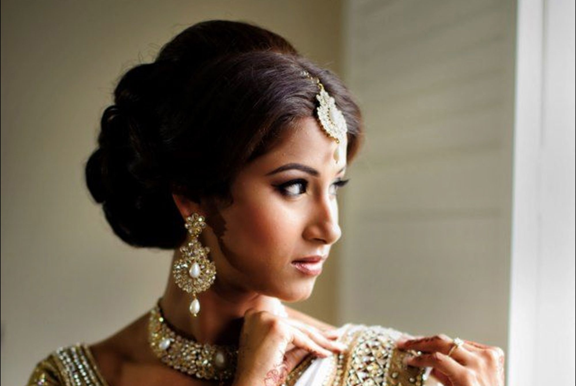 pin by aneesha sinha on hair styles in 2019 | bridal hairdo