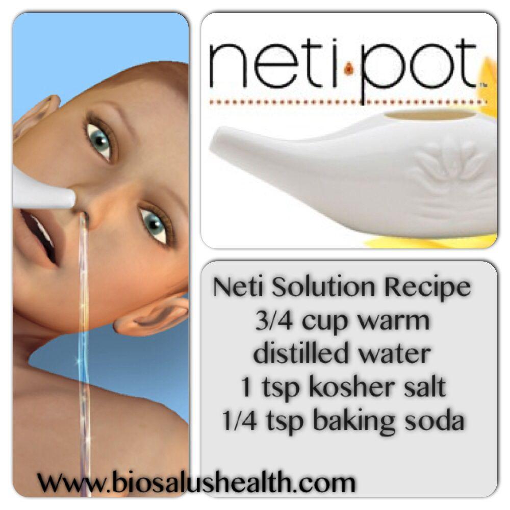 Neti Pot Recipe Neti Pot Herbal Healing Natural Healing Remedies