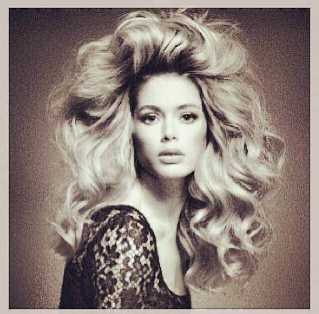 Love this big hair!