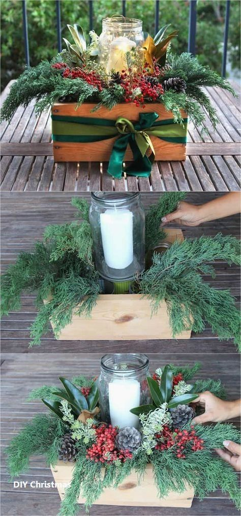 New DIY Christmas Ideas #deconoelmaisonexterieur
