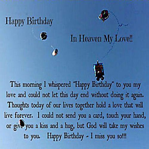 15 Best Happy Birthday Husband In Heaven Ideas Happy Birthday Husband Birthday In Heaven Happy Birthday In Heaven
