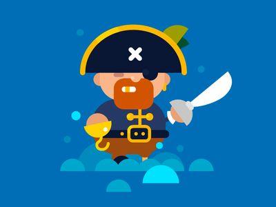 "Pirate said ""Ar-r-r-r, mother f#ker"""
