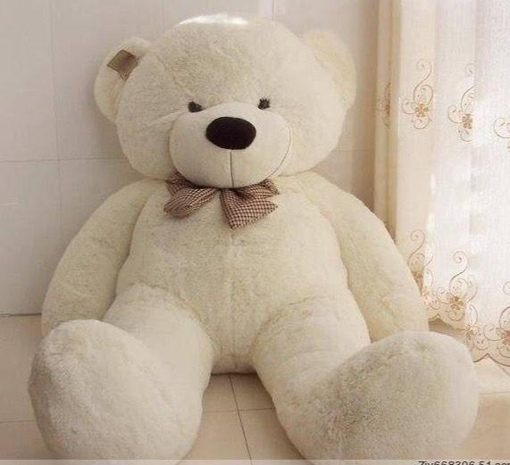 05733e65f 5 or 6 foot stuffed teddy bear | Mayuri | Giant teddy bear, Big ...