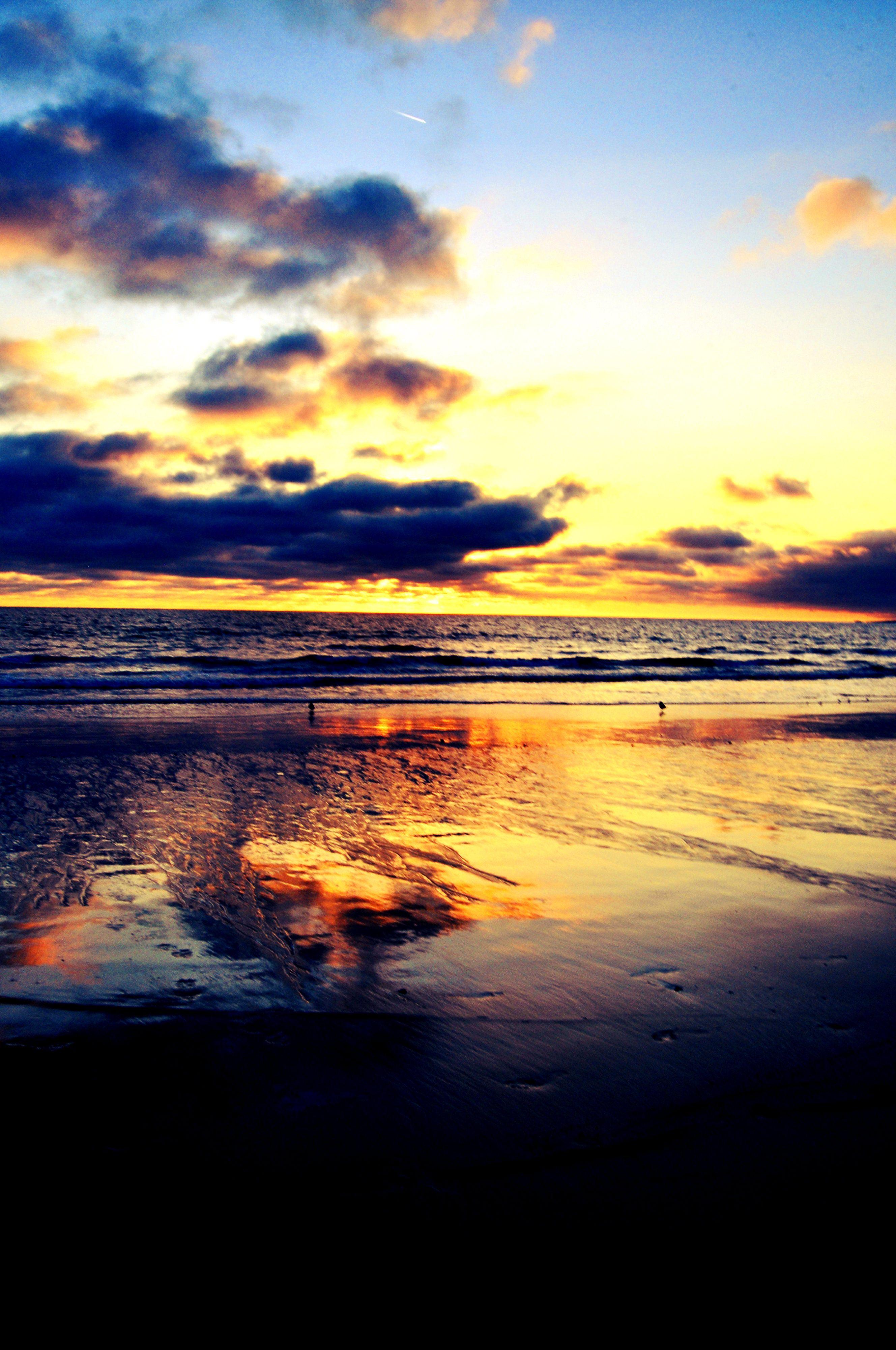 Beautiful Beach Sunset Tumblr
