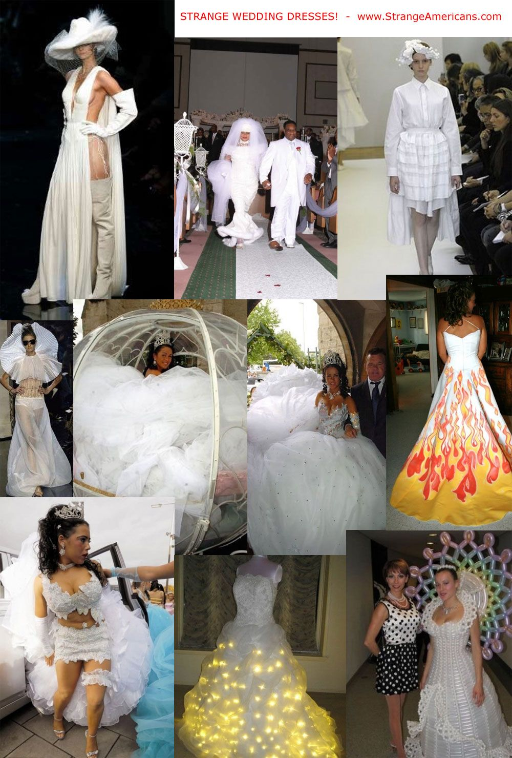 Strange And Crazy Wedding Dresses Wild Weird Wedding Dress Cheap Wedding Dress Wedding Dresses