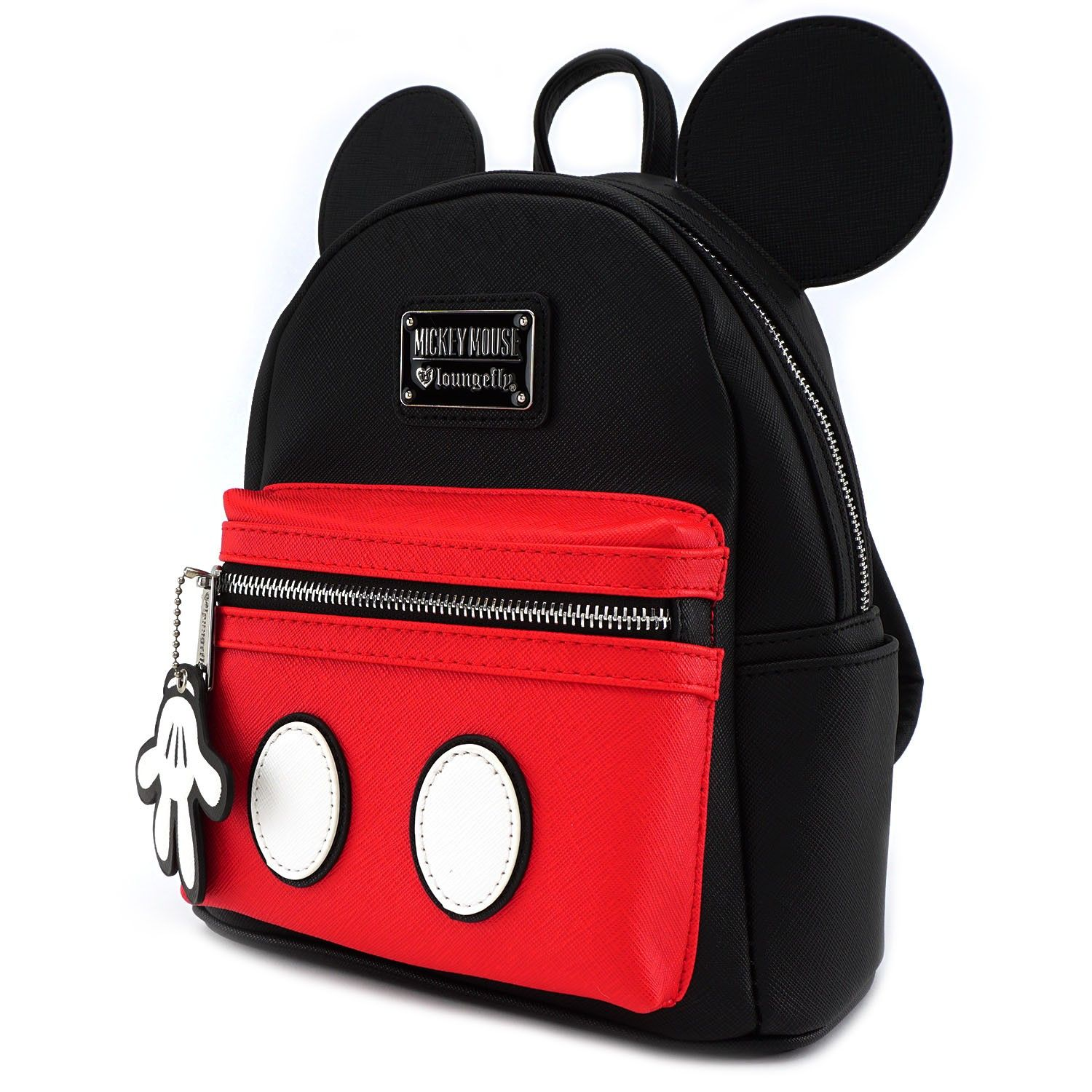8c5b98c97cd Loungefly x Mickey Suit Mini Saffiano Faux Leather Backpack - Disney -  Brands
