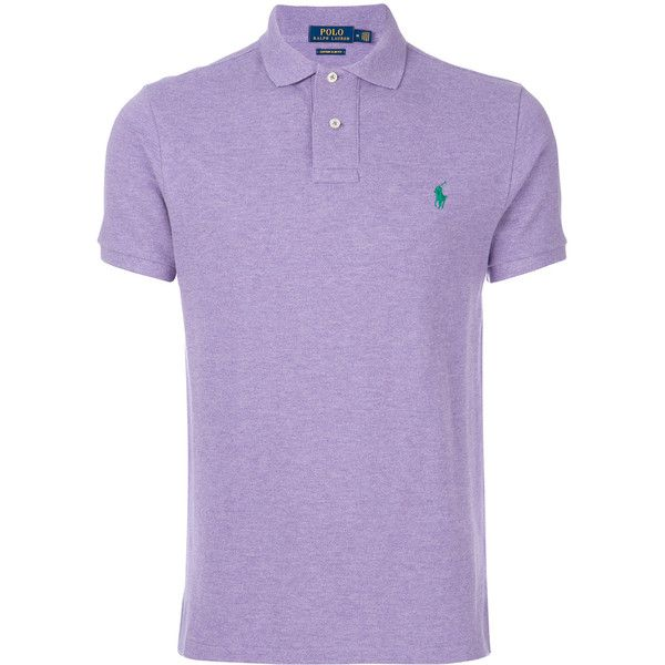 Polo Ralph Lauren slim-fit polo shirt (345 BRL) ❤ liked on Polyvore featuring men's fashion, men's clothing, men's shirts, men's polos, mens polo shirts, mens short sleeve polo shirts, mens polo collar shirts, mens short sleeve sport shirts and polo ralph lauren mens shirts