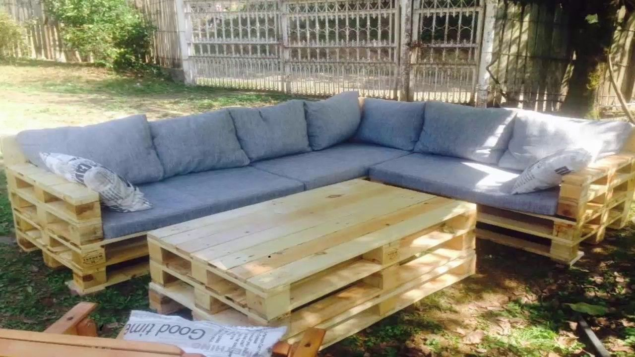 Diy Recycled Wood Pallet Garden Sofa Furniture Pallet Furniture