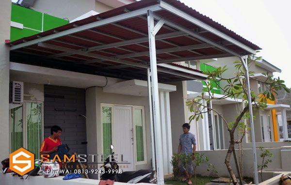 harga atap baja ringan untuk kanopi pin di bajaringan