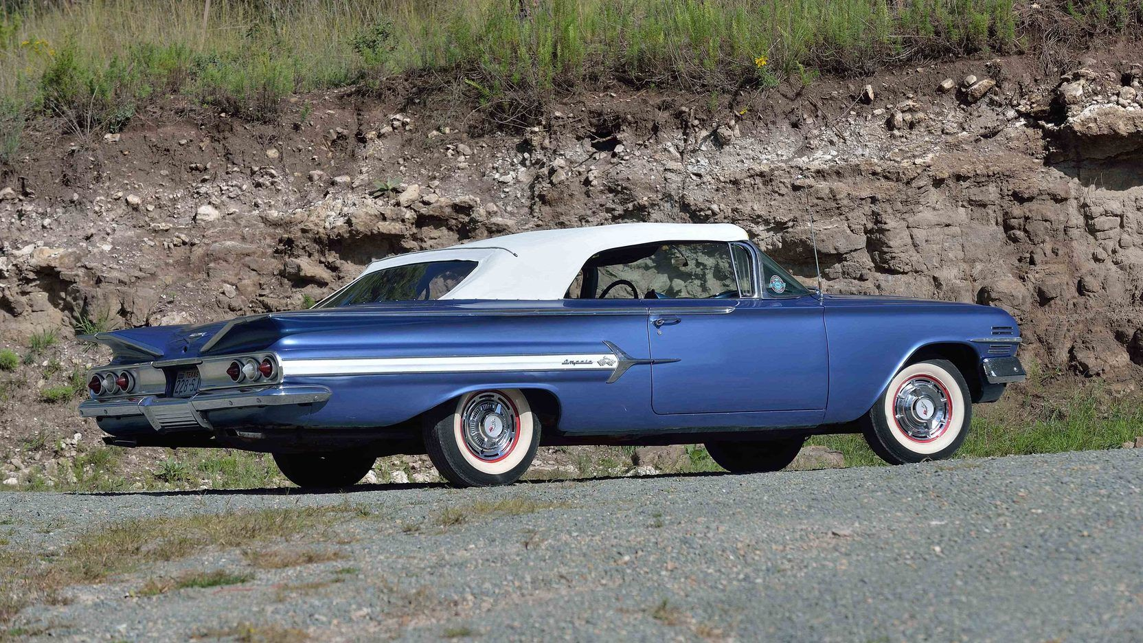 1960 Chevrolet Impala Convertible 3 Print Image Chevrolet
