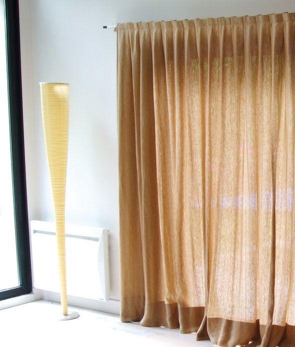 Voici une tête de rideaux tout à fait innovante  une fois les