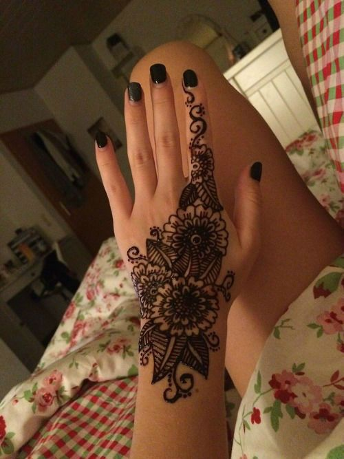 Henna Tattoos Everything You Need To Know 100 Great: Henna Tattoo Designs - The Best Designs For You