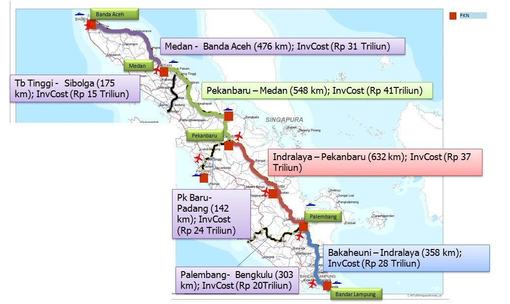 Padang Pekanbaru Banda Aceh