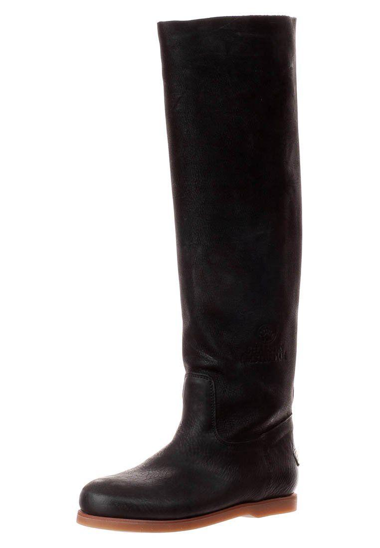 AVIREX - Høje støvler/ Støvler - sort