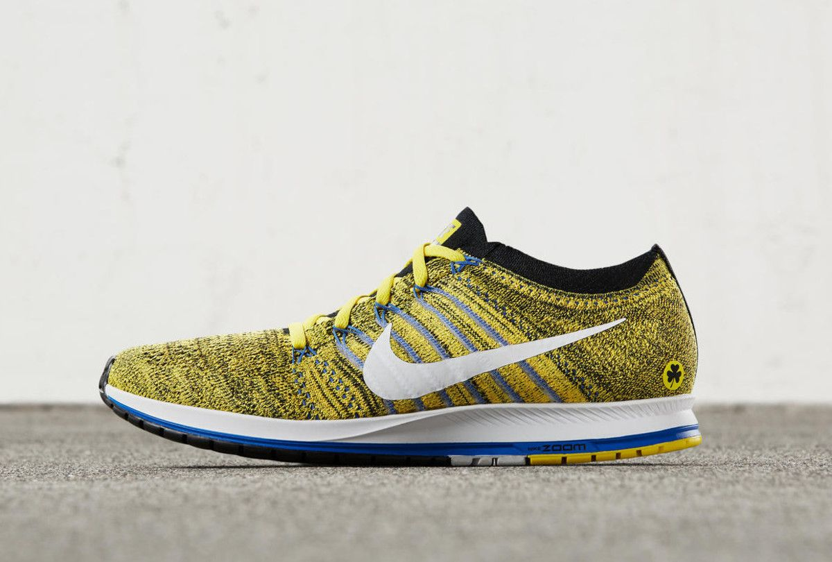 Nike Launches A Special Boston Edition Of The Zoom Flyknit Streak