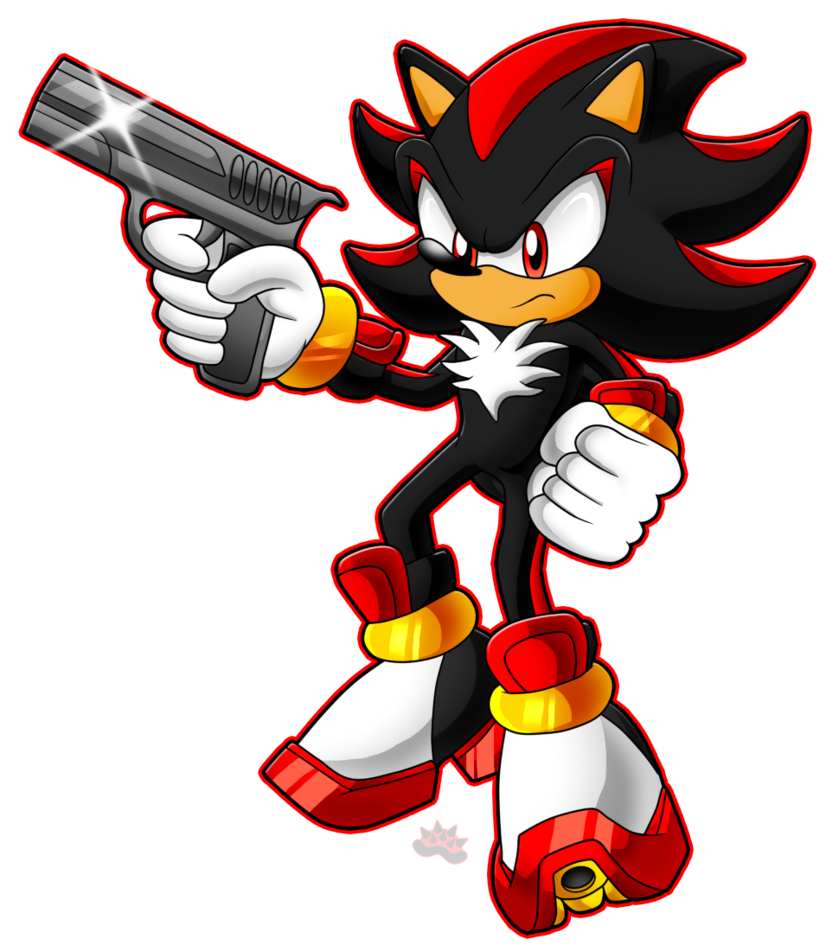 25+ Shadow The Hedgehog With Gun Gif
