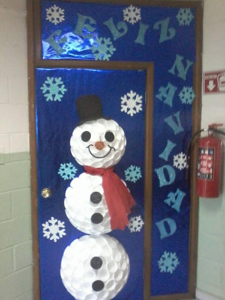Decoracion De Navidad Para Puertas ~   Decoracion Puertas, Decoraci?n Puertas, Manualitats Nadal, Puertas