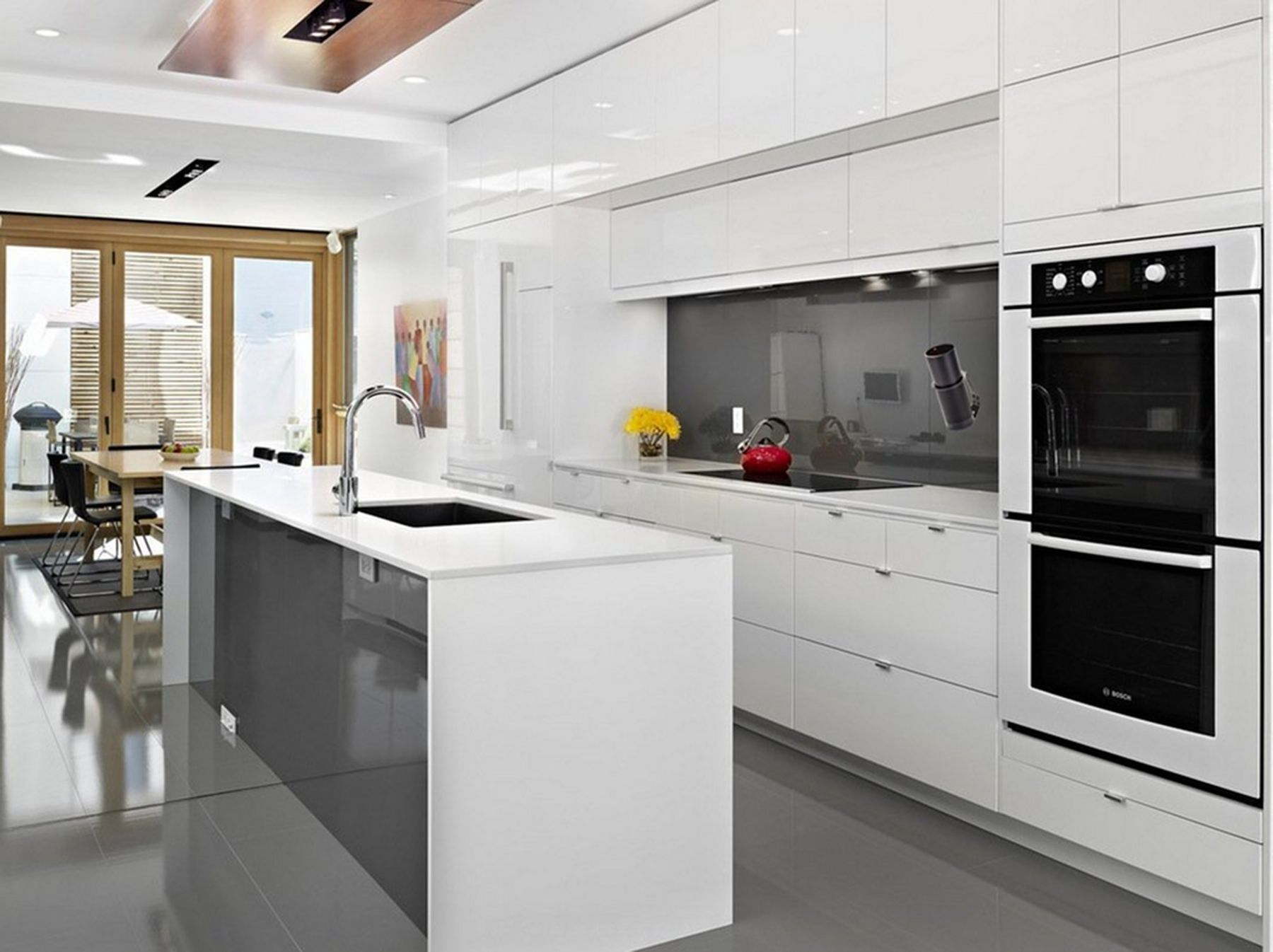 12 Beautiful White Kitchen Design Idea So That The Kitchen Looks