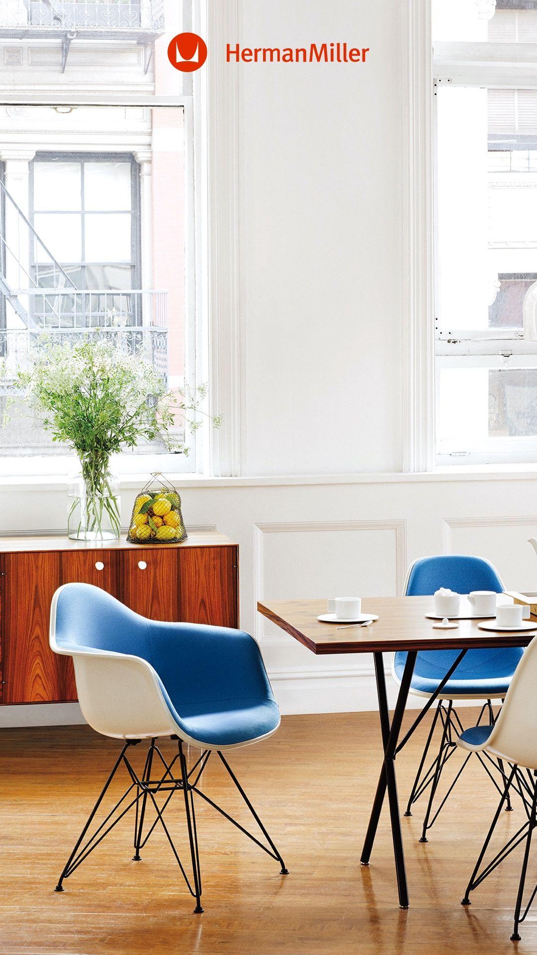 Table Herman Miller Eames Dining, Herman Miller Dining Room Chairs