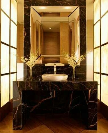 Black Gold Marble Bathroom Gold Bathroom Decor Black And Gold Bathroom Modern Bathroom Decor