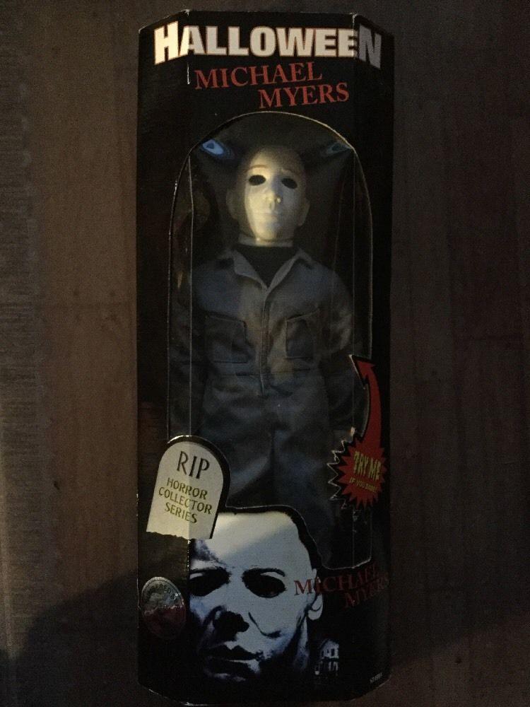 rip horror collector series halloween michael myers doll - Halloween Video Game Michael Myers