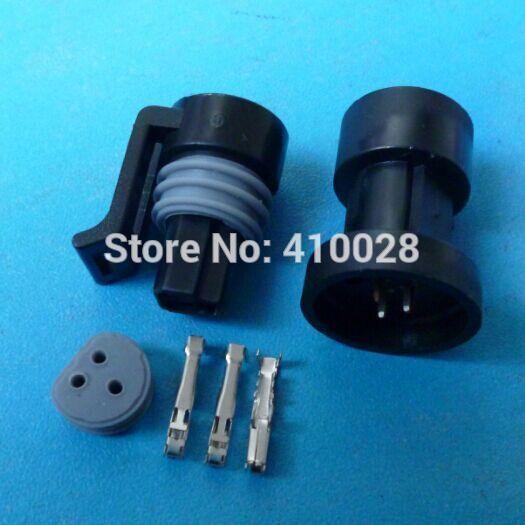 100 set 3 pin Temp senser connector ,car restrictor/throttle