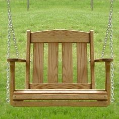 Amish Outdoor Furniture Mission Patio Single Swing Chair