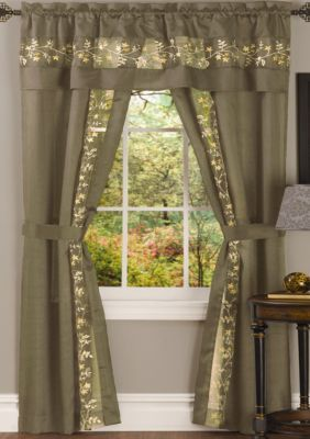 Fairfield 5 Piece Window Curtain Set In 2020 Curtains Panel