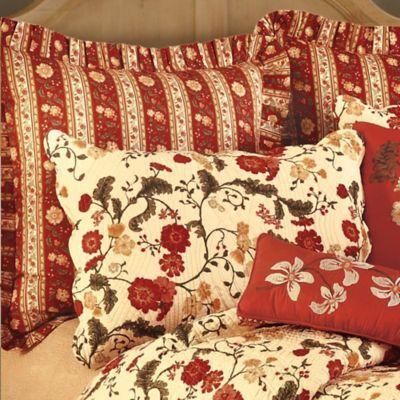 Red Carlisle Pillow Sham