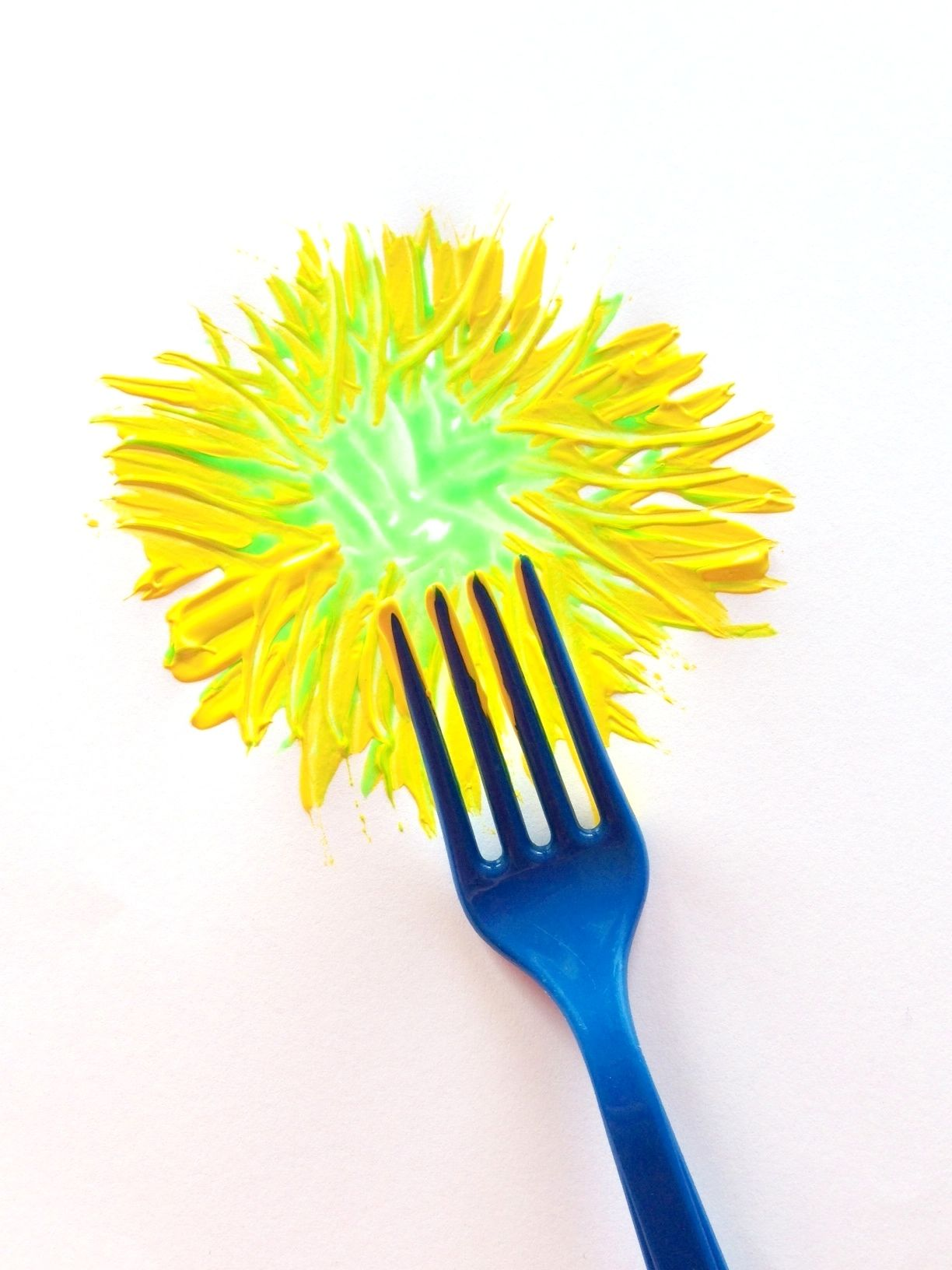 Fork Painting Room To Grow Kids Ideas Painting