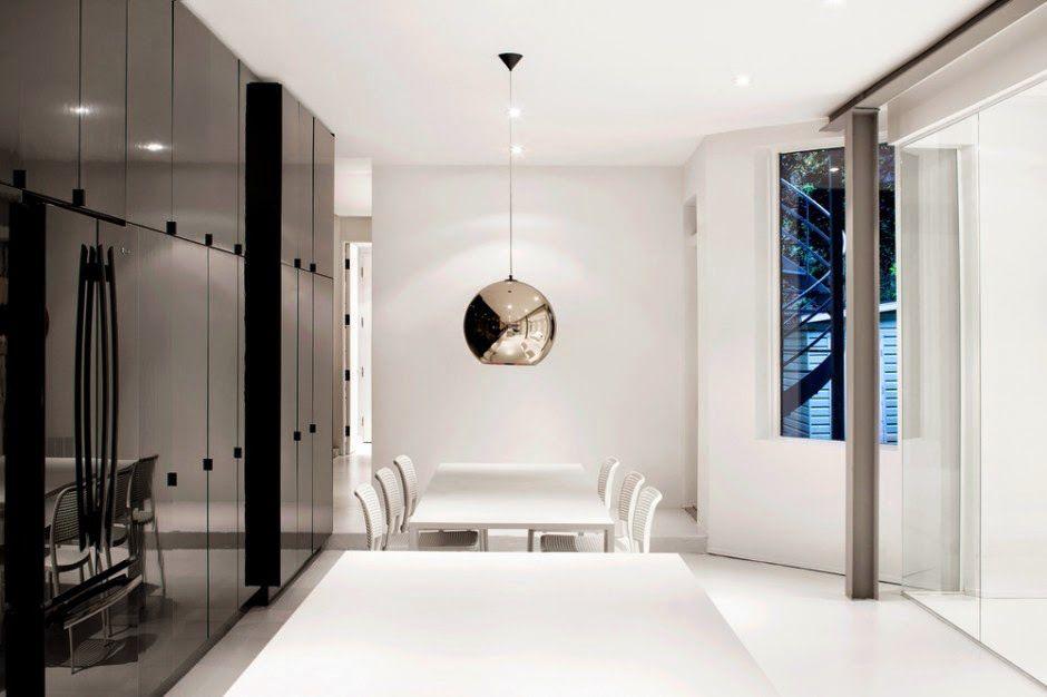 Como Decorar Casas Modernas En Blanco Y Negro Pinterest Casas - Como-decorar-una-casa-moderna
