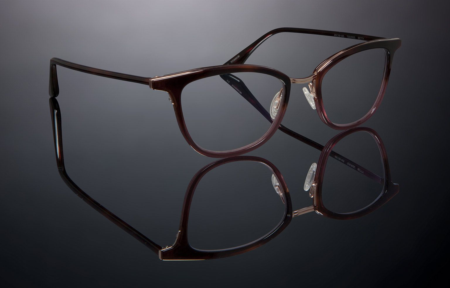 Image result for BETTY eyewear | TEA ROSE GRADIENT-ROSE GOLD ...