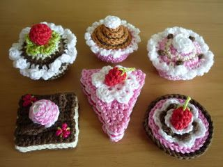 Gebakjes Haken Knitting Pinterest Amigurumi Crochet Food And