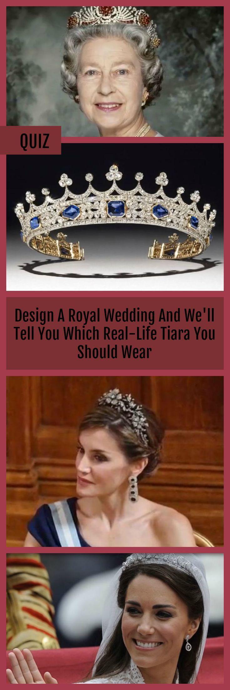 Entwerfen Sie eine königliche Hochzeit und wir raten Ihnen