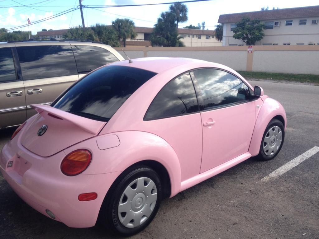 ca dsc doubleclutch review volkswagen beetle pink convertible