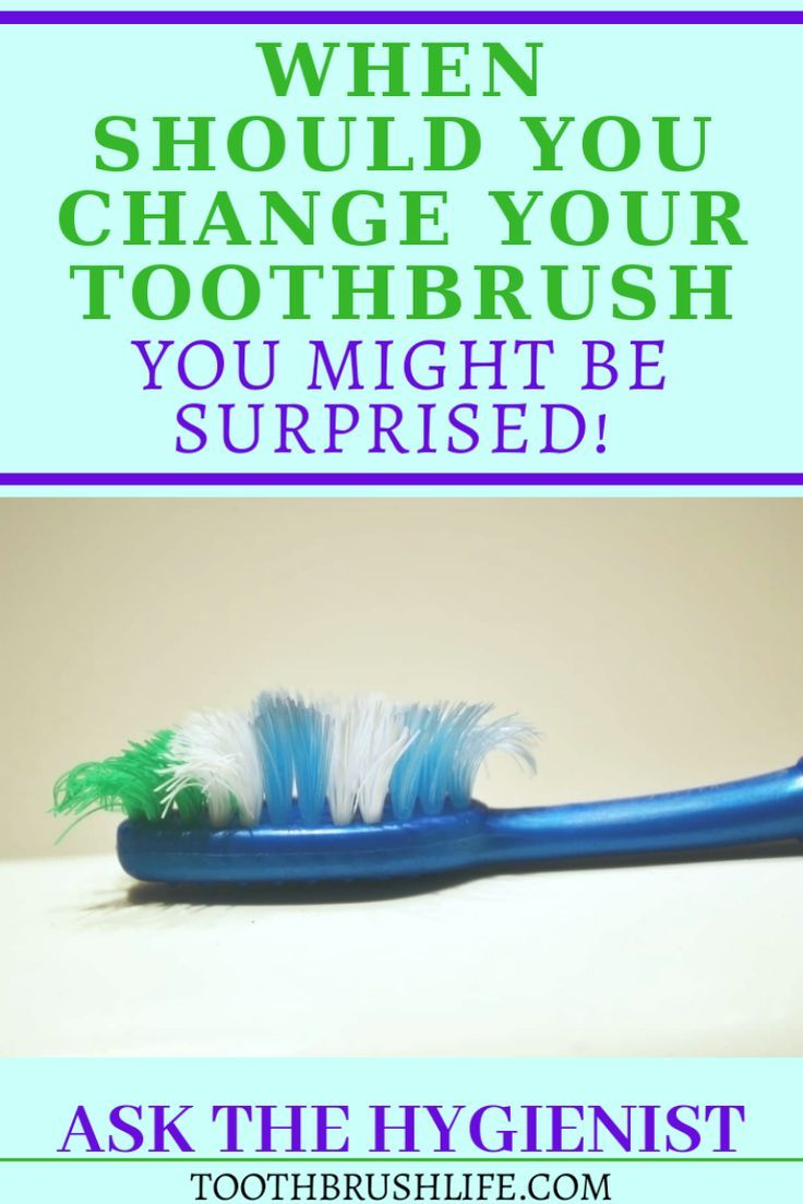 How Often Should You Replace Your Toothbrush (With images ...