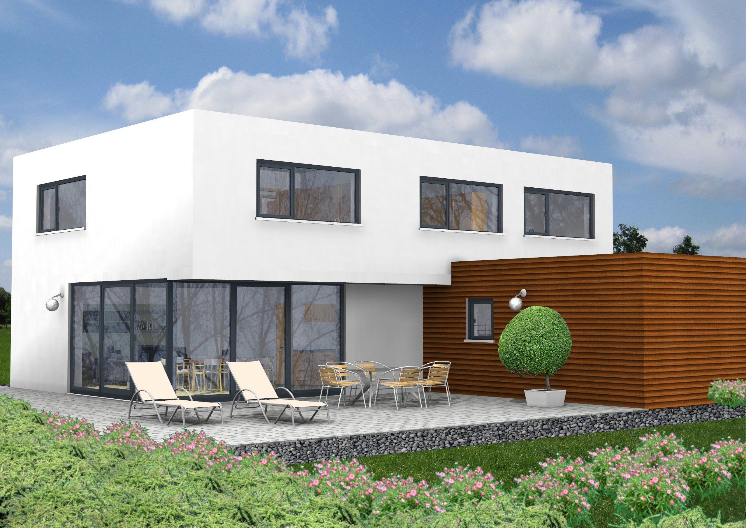 Unsere Haus-Idee mit ca. 208 m² Wohnfläche. Wohnen und Arbeiten ...